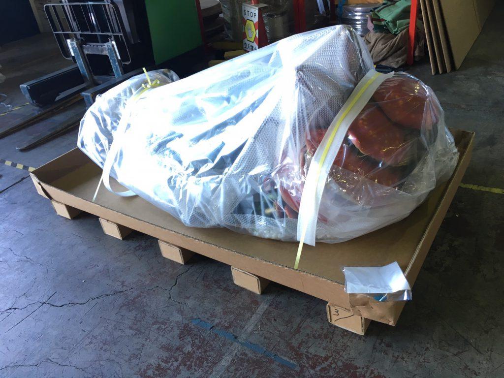 【造形品 梱包作業 20181108】美術品・楽器・高級家具物流(梱包・輸送・保管)comブログ