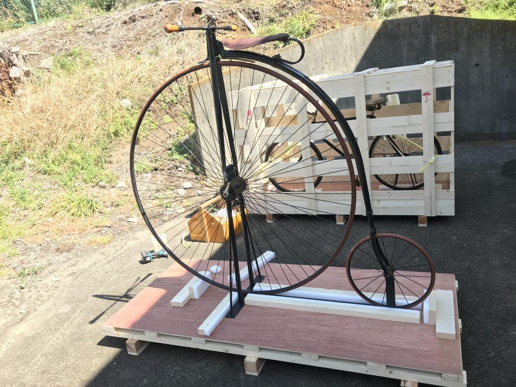 【アンティーク自転車 梱包作業 20190619】美術品・楽器・高級家具物流(梱包・輸送・保管)comブログ
