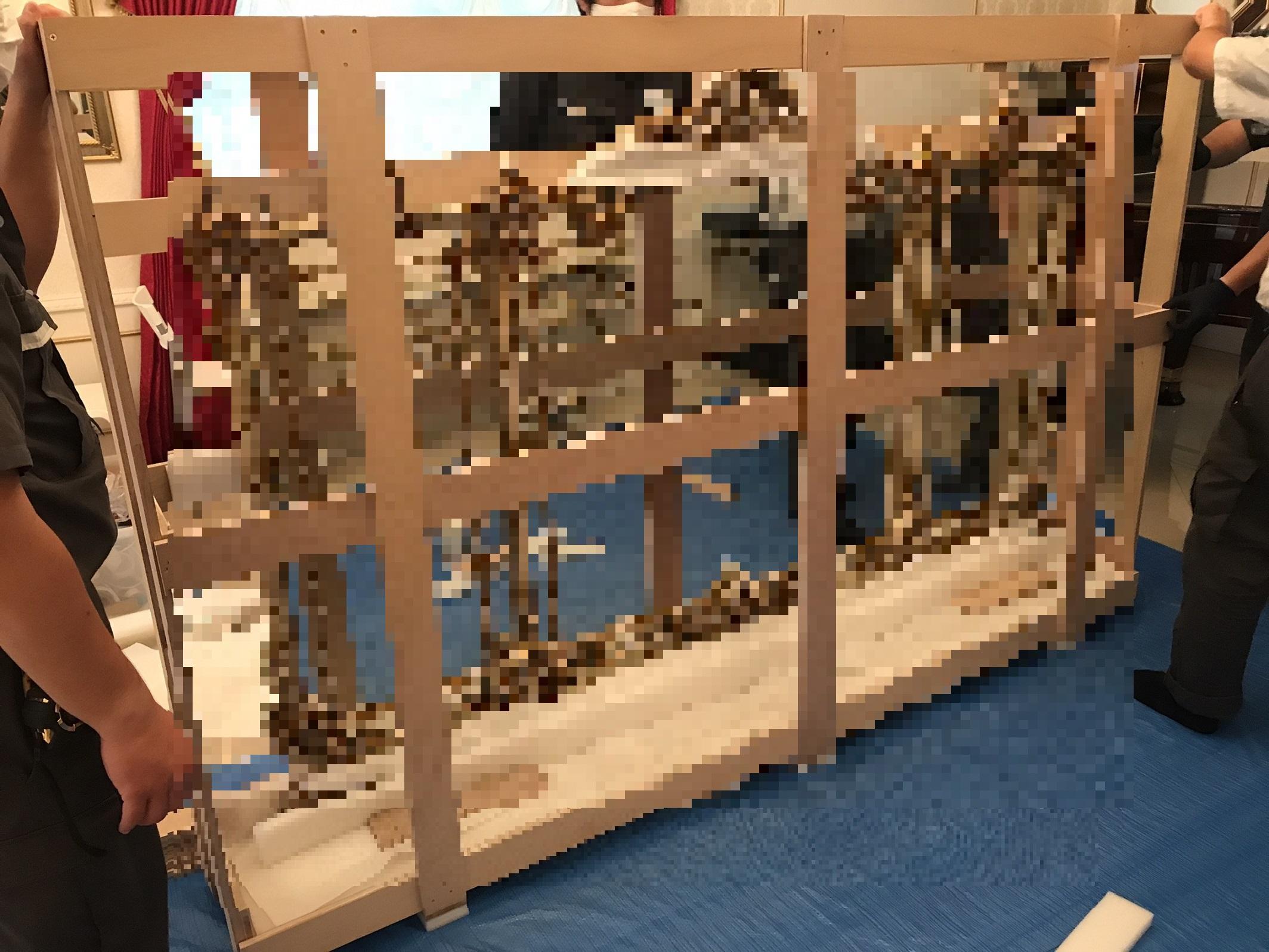 【高級家具 梱包・輸送作業 20210710】美術品・楽器・高級家具物流(梱包・輸送・保管)comブログ